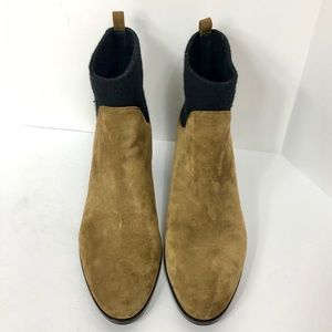 Via Spiga Brown Leather Ankle Boots